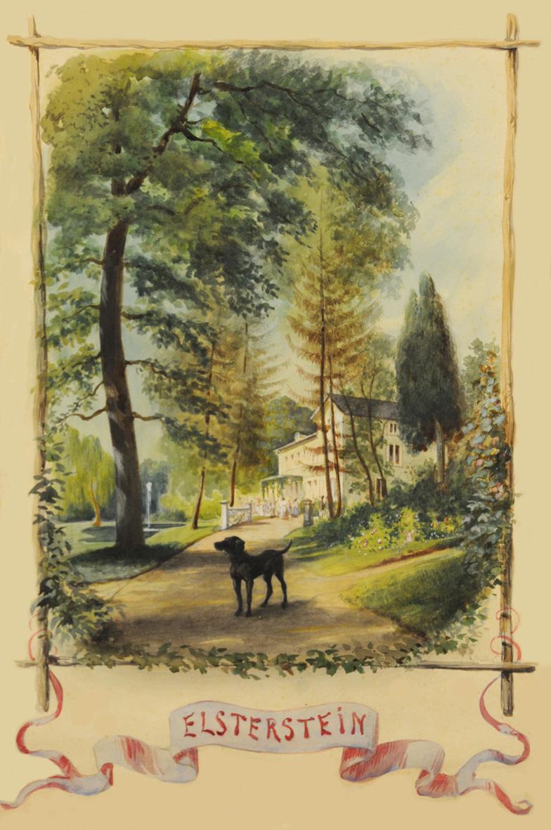 Besuch im Elstersteinpark