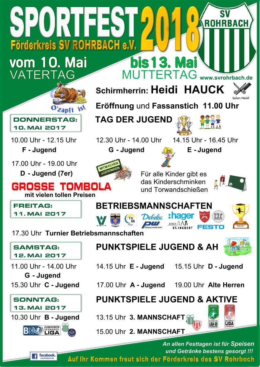 Sportfest in den Königswiesen.