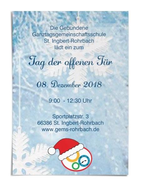 Tag der offenen Tür: Die Gebundene Ganztagsschule Rohrbach