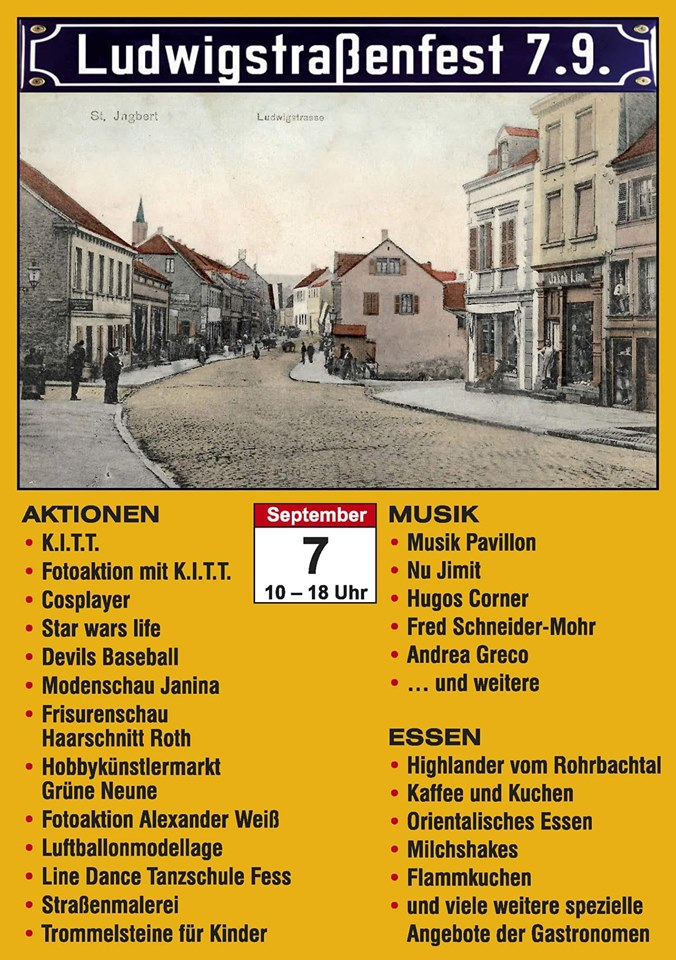 1. Ludwigstraßenfest