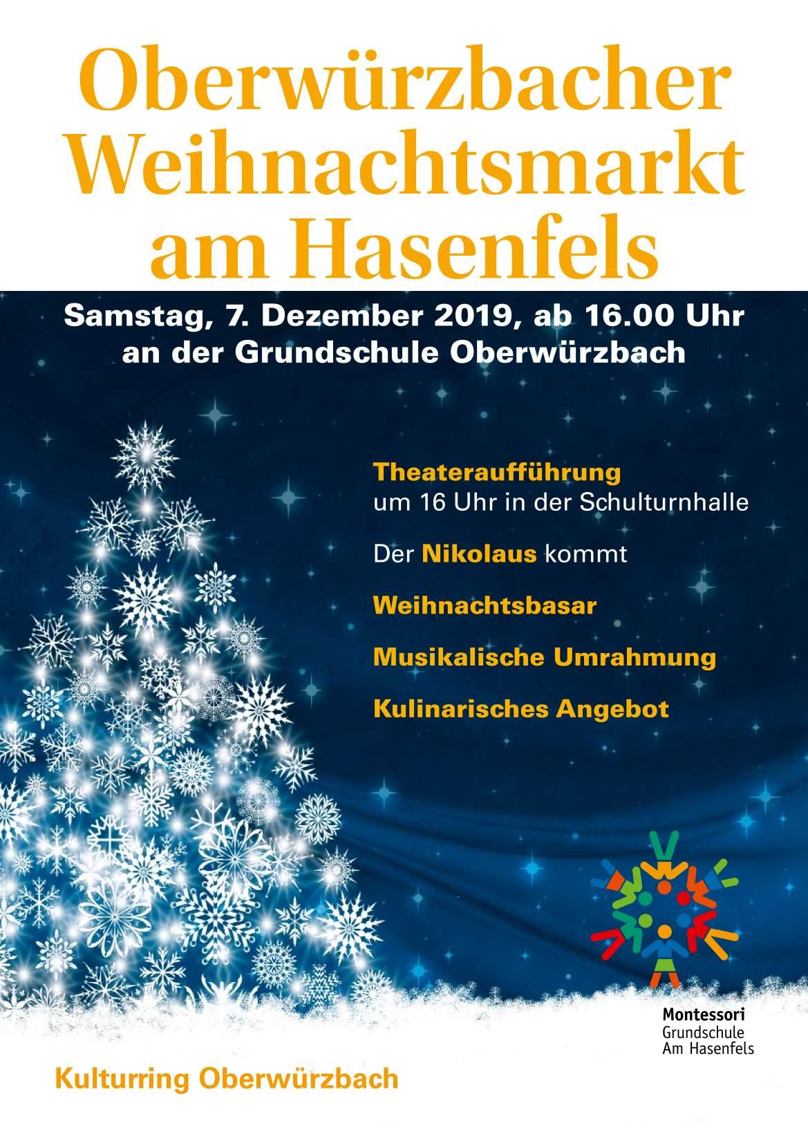 Oberwürzbacher Weihnachtsmarkt am Hasenfels